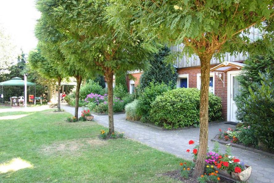 Gartenanlage Ferienhof Niemann