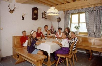 Gemütlicher Aufenthaltsraum im Landhaus Altweck