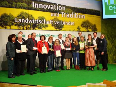Gewinner Beliebtester Ferienhof 2013 - Bild Thomahof