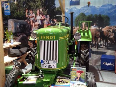 Grüne Woche 2014 Bauernhof Urlaub Allgäu
