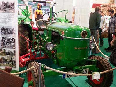 Grüne Woche 2014 Traktor