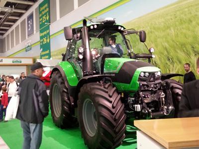 Grüne Woche 2014 Traktoren