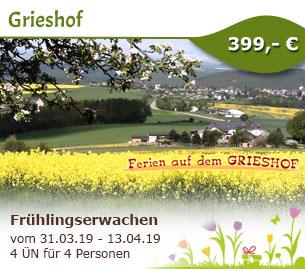 Frühlingserwachen im Hunsrück - Grieshof