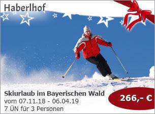 Haberlhof Lohberg - Skiurlaub im Bayerischen Wald