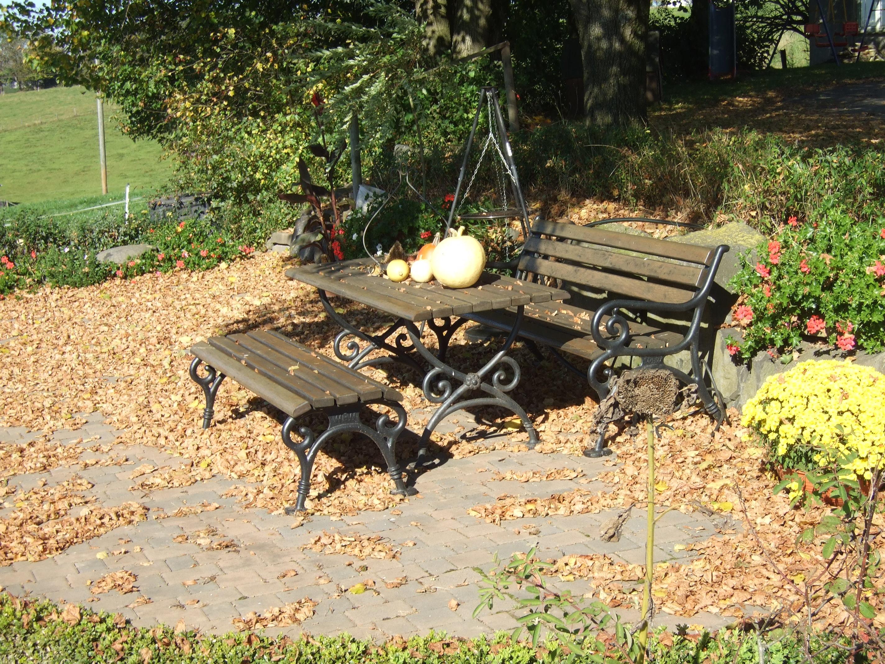Herbst auf dem Ferienhof Pütz