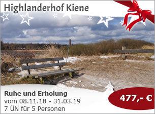Highlanderhof Kiene - Ruhe und Erholung