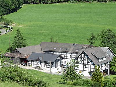 Hof Stratmann von oben