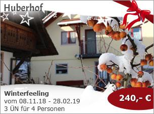 Huberhof - Winterfeeling