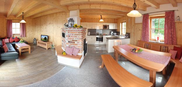 Wohnbereich Tom´s Hütte