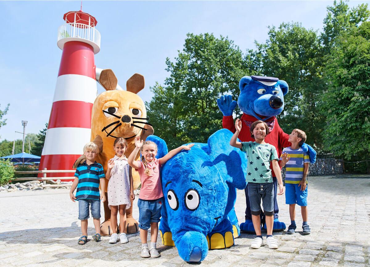 Ravensburger Spieleland-Maskottchen - © Ravensburger Freizeit und Promotion GmbH