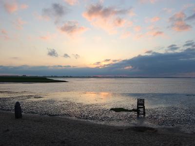 Impressionen am Strand auf dem Ferienhof Hayenort
