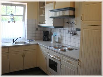 Küche ant Diek auf dem Ferienhof Baller-achtern-diek