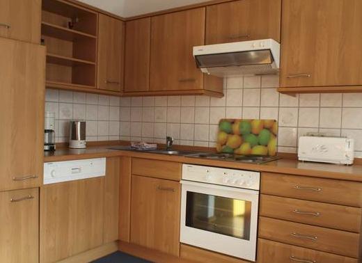 Küche der Ferienwohung Buschblick