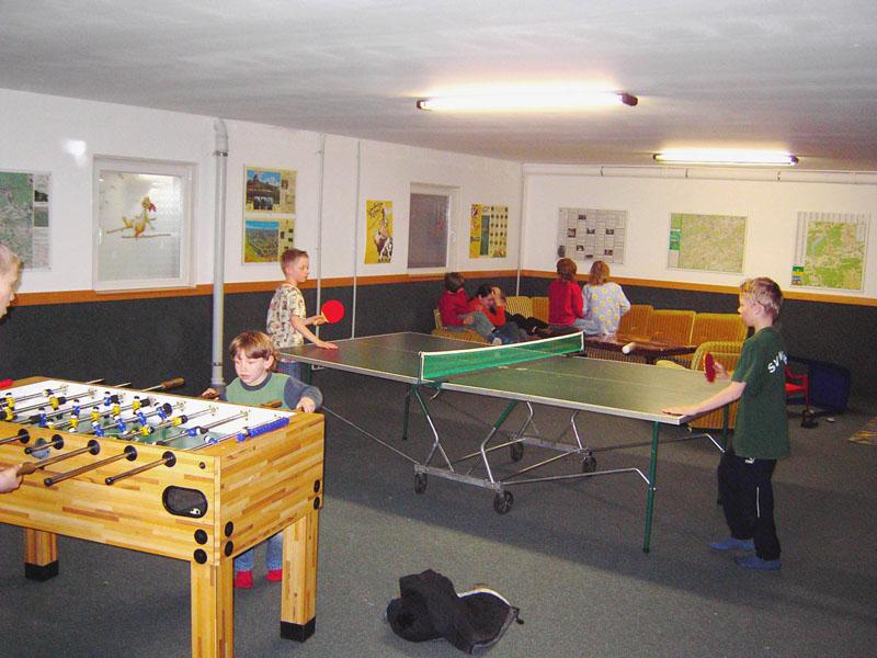 Kicker, Tischtennis und vieles mehr auf dem Schellen Hof