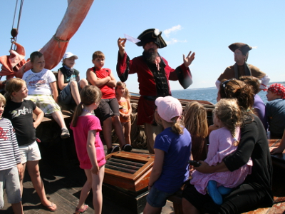 Kinder auf Hoher See - Piraten Ahoi heißt es dann auf der Ferienanlage Schuldt