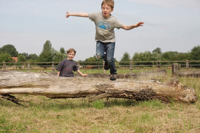 Kinder auf der Vita-Farm Bergmann-Scholvien