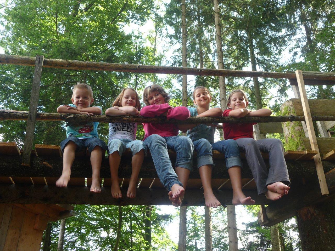 Kinder sind immer willkommen auf dem Ranzinger Hof