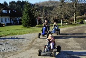 Kinderfuhrpark auf Alfred´s Ferienbauernhof