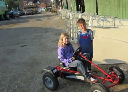Kinderfuhrpark auf dem Ferienhof Rickerts