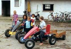 Kinderfuhrpark auf dem Vorderlipphof