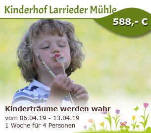 Kinderträume werden wahr - Kinderhof Larrieder Mühle