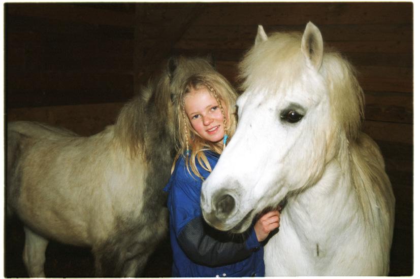 Kinderliebe Ponys bei  Fuchs und Has