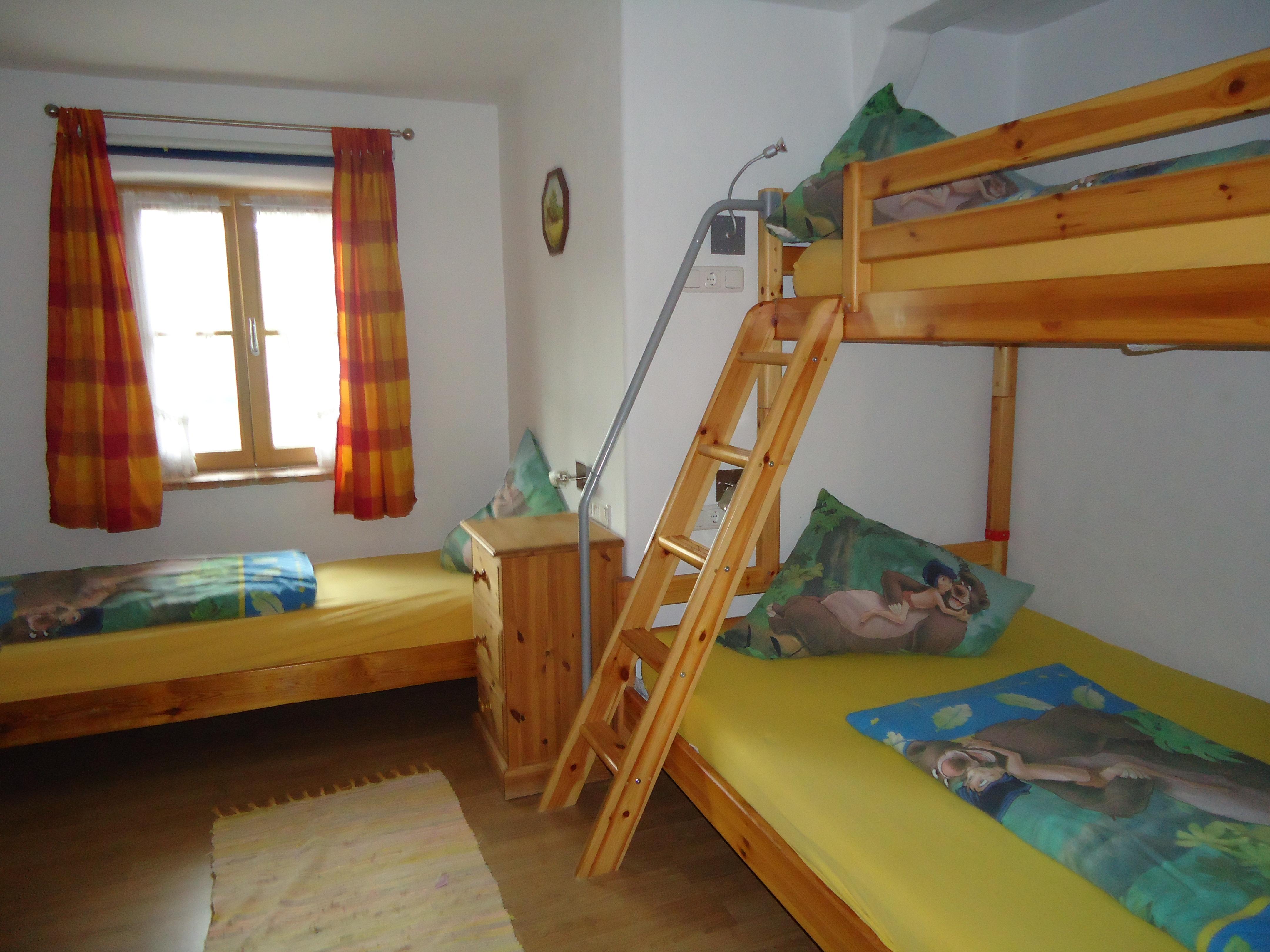 Kinderzimmer der Wohnung 7 auf dem Wolfeicherhof