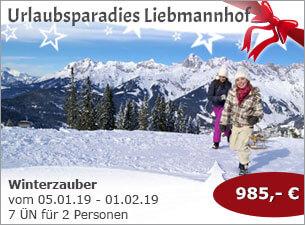 Urlaubsparadies Liebmannhof - Winterzauber