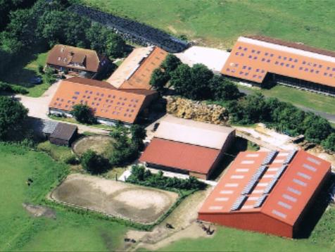 Luftaufnahme Ferienhof Baller