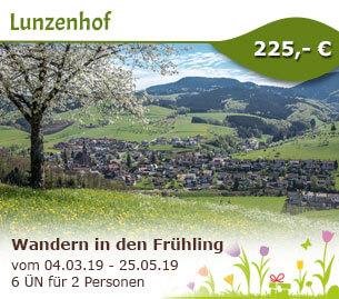 Wandern in den Frühling - Lunzenhof