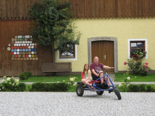 Go-Kart Fahren auf dem Schelterhof