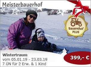Meisterbauerhof - Wintertraum im Berchtesgadener Land