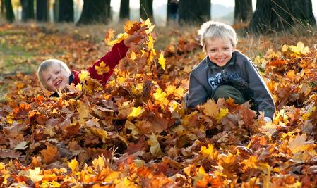 Herbst 2014: Familienurlaub auf einem Bauernhof