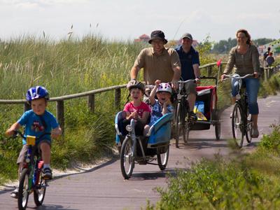 Mit dem Fahrrad unterwegs von der Büdlfarm