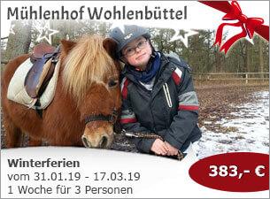 Mühlenhof Wohlenbüttel - Winterferien
