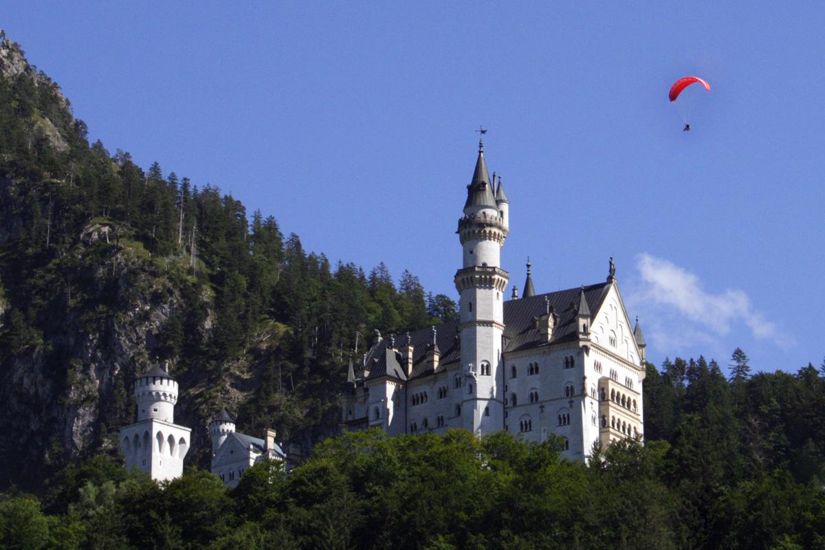 Nur wenige Autominuten entfernt vom Salenberghof - Das Schloss Neuschwanstein