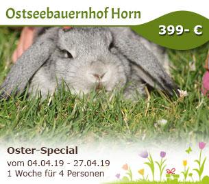 Oster-Special - Ostseebauernhof Horn