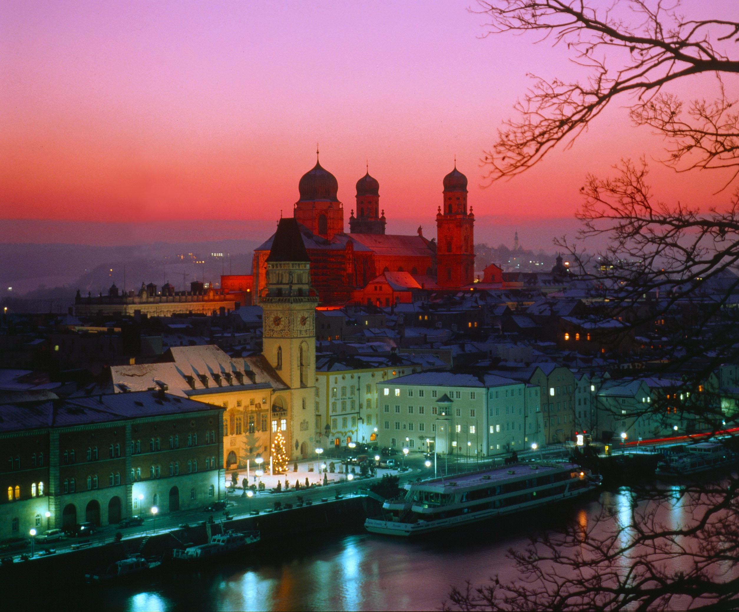 Passau ein Ausflug wert  vom Landhaus Altweck