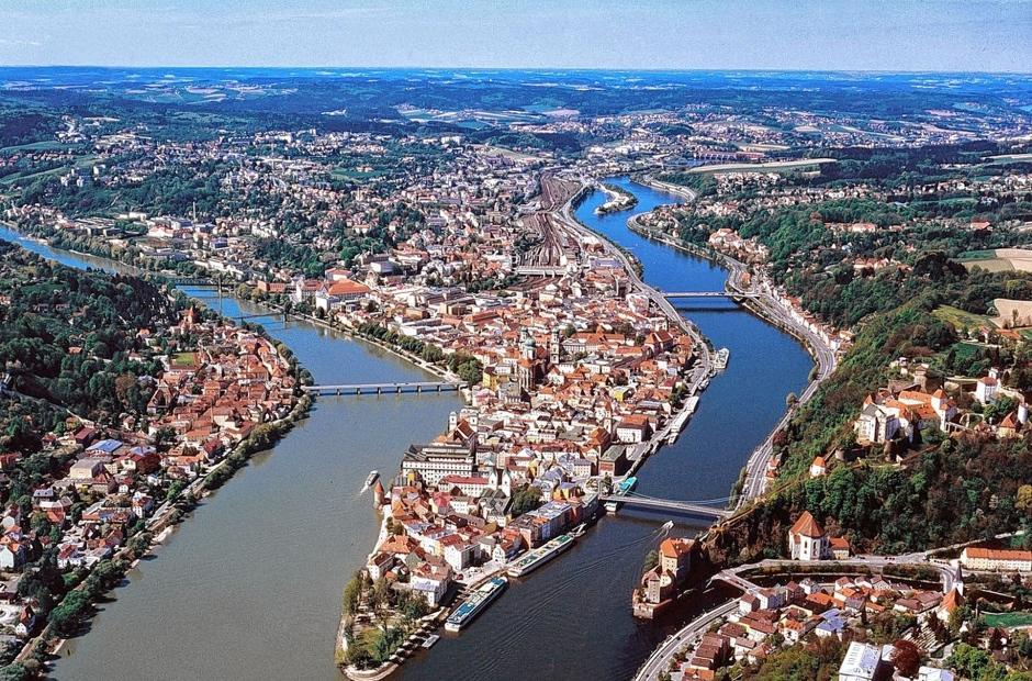 Passau nicht weit vom  Landhaus Altweck