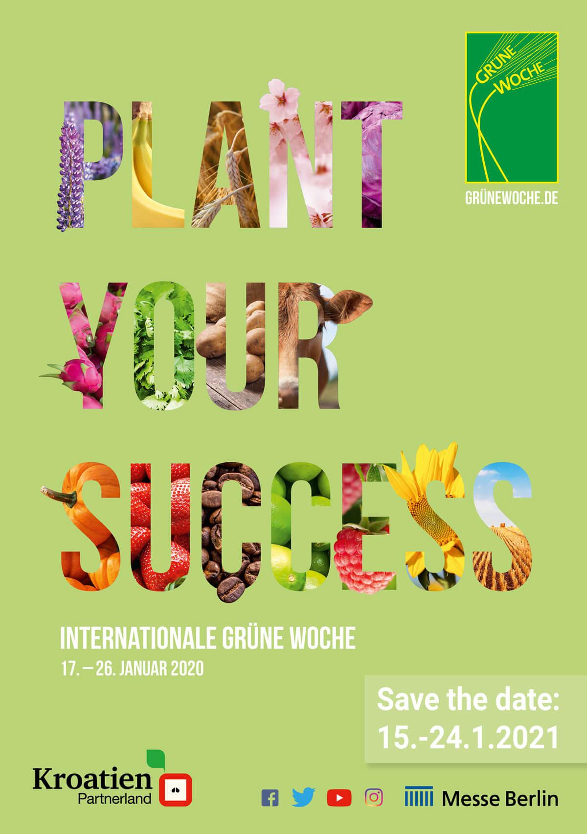 Messeplakat der Internationalen Grünen Woche - © Messe Berlin