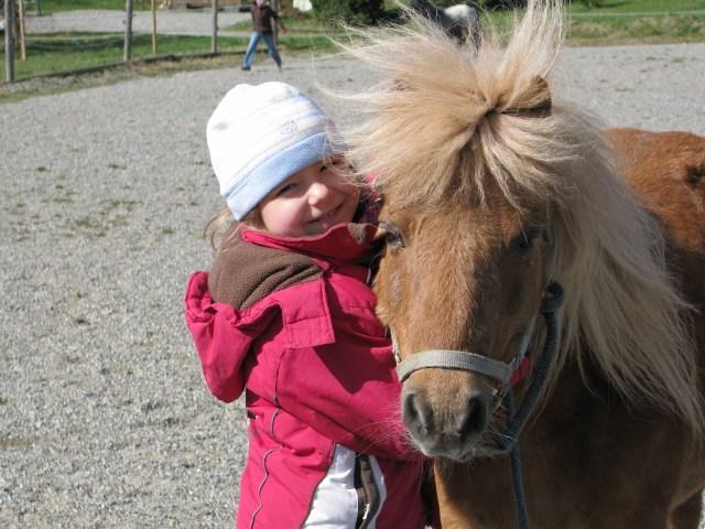 Pony auf dem Ferienhof Rösch