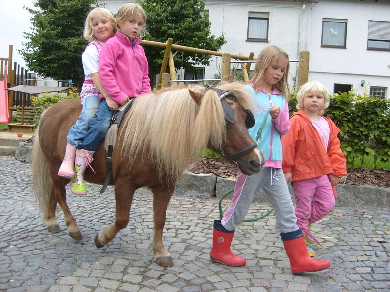 Ponyreiten auf dem Schellen Hof+