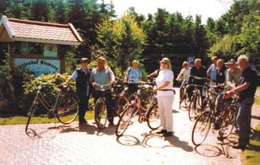 Radfahren ab Hof auf dem Ferienhof Niemann