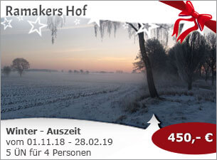 Ramakers Hof - Winter - Auszeit