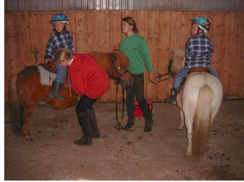 Reiten auf Ponys