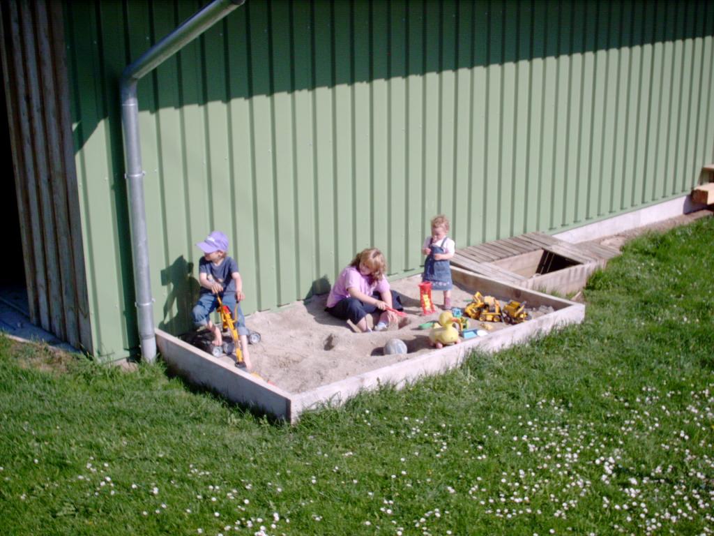 Der Spielplatz auf dem Kinderbauernhof Hindelang