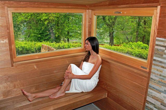 Sauna  auf Hof Hardthöhe