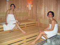 Sauna auf dem Rügen-Ferienhof