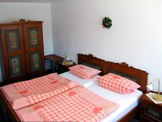 Schlafzimmer Ferienwohnung Kornkammer