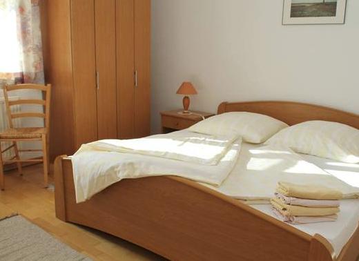 Schlafzimmer der Ferienwohung Buschblick